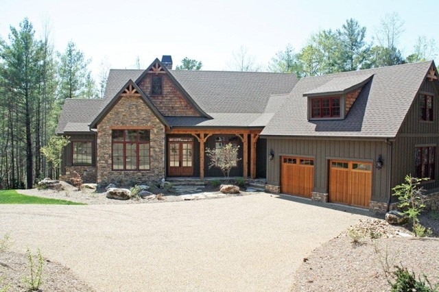 The solstice springs plan 5011 traditional exterior for Donald a gardner craftsman house plans