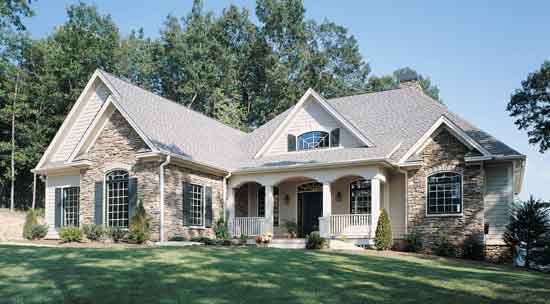 The Somersby   Plan #1143 Traditional Exterior
