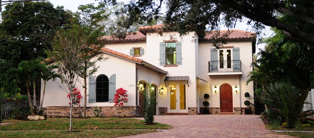 The Sonoma Model In Sarasota Florida Mediterranean Exterior Tampa By Classic Homes By