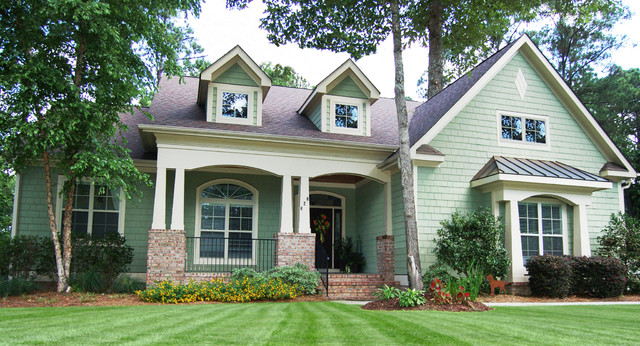 The Summerhill - Plan #1090 traditional-exterior