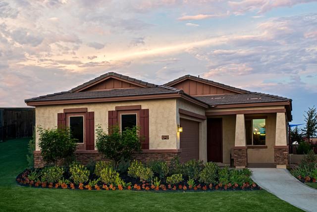The Tamarisk Plan at Villages at Val Vista | Phoenix, AZ traditional-exterior