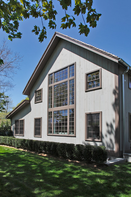 The Tate Post and Beam Barn Home traditional-exterior