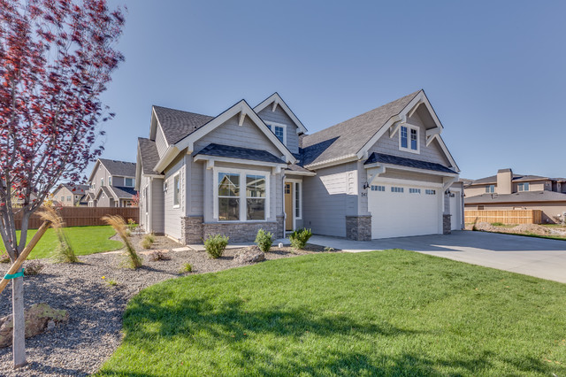 The Teton Broderick Traditional Exterior Boise By Alturas Homes