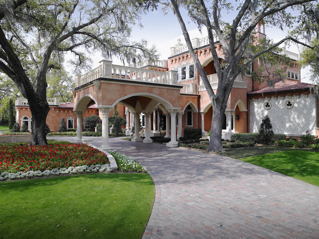 the tourmaline driveway by custom home builders tampa florida, Luxury Homes