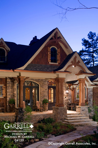 The Tranquility House Plan 04159 Front Porch Craftsman Exterior