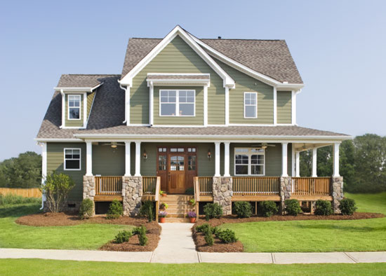 the trotterville plan 984 craftsman exterior