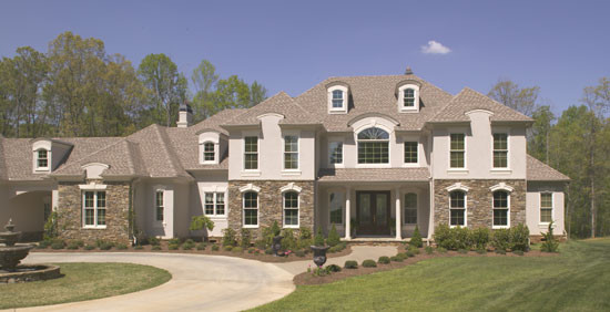 The Wedgewood-Plan# 806 traditional-exterior