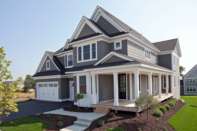 The westfield fall 2013 parade of homes model - Grey exterior house paint ideas ideas ...