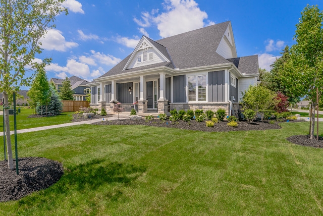 The westhaven provincial award winning bungalow for Award winning craftsman home designs