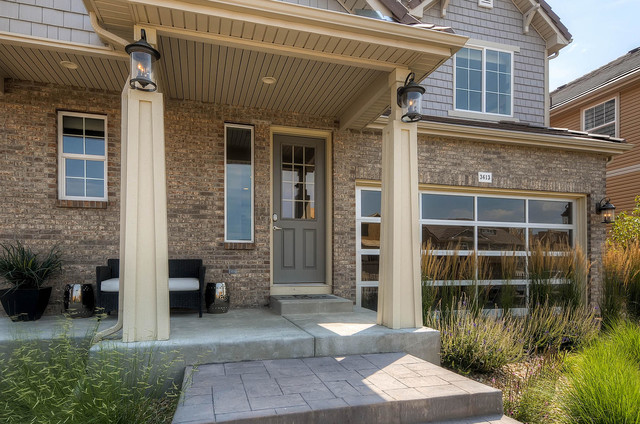 The yampa contemporary exterior denver by oakwood for Oakwood homes design center