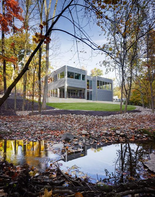 The Zinc House modern-exterior
