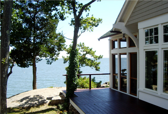 Thimble Island Guest House - Traditional - Exterior - new york - by Bazazi Design