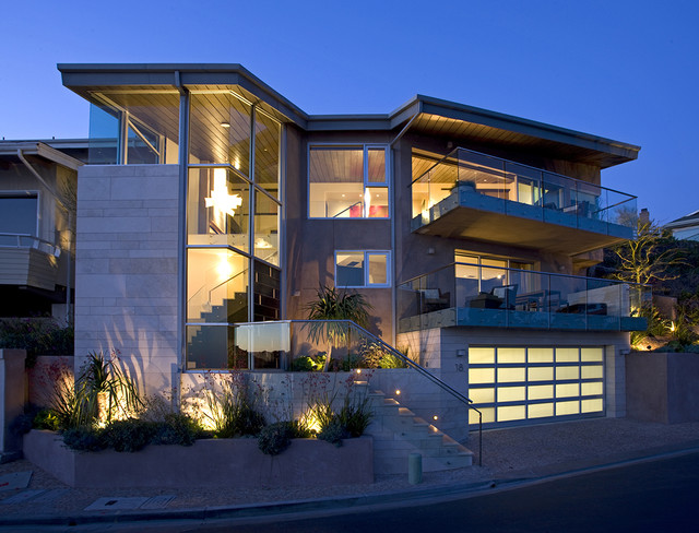 Three Arch Bay Residence - Exterior contemporary exterior