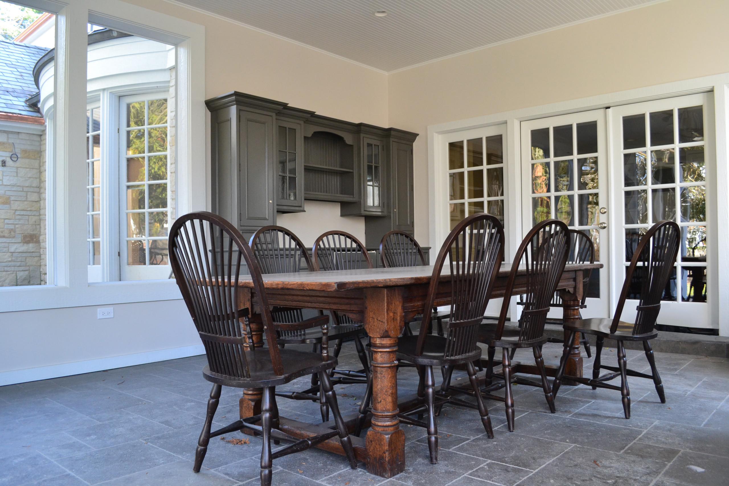Three - season-room & Front entry porch