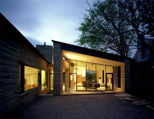 Three Stones modern-exterior