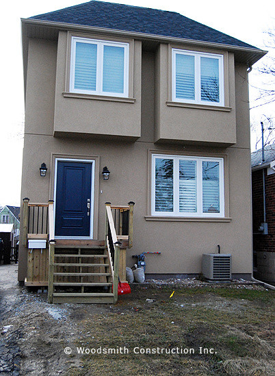 Two Storey New home traditional-exterior
