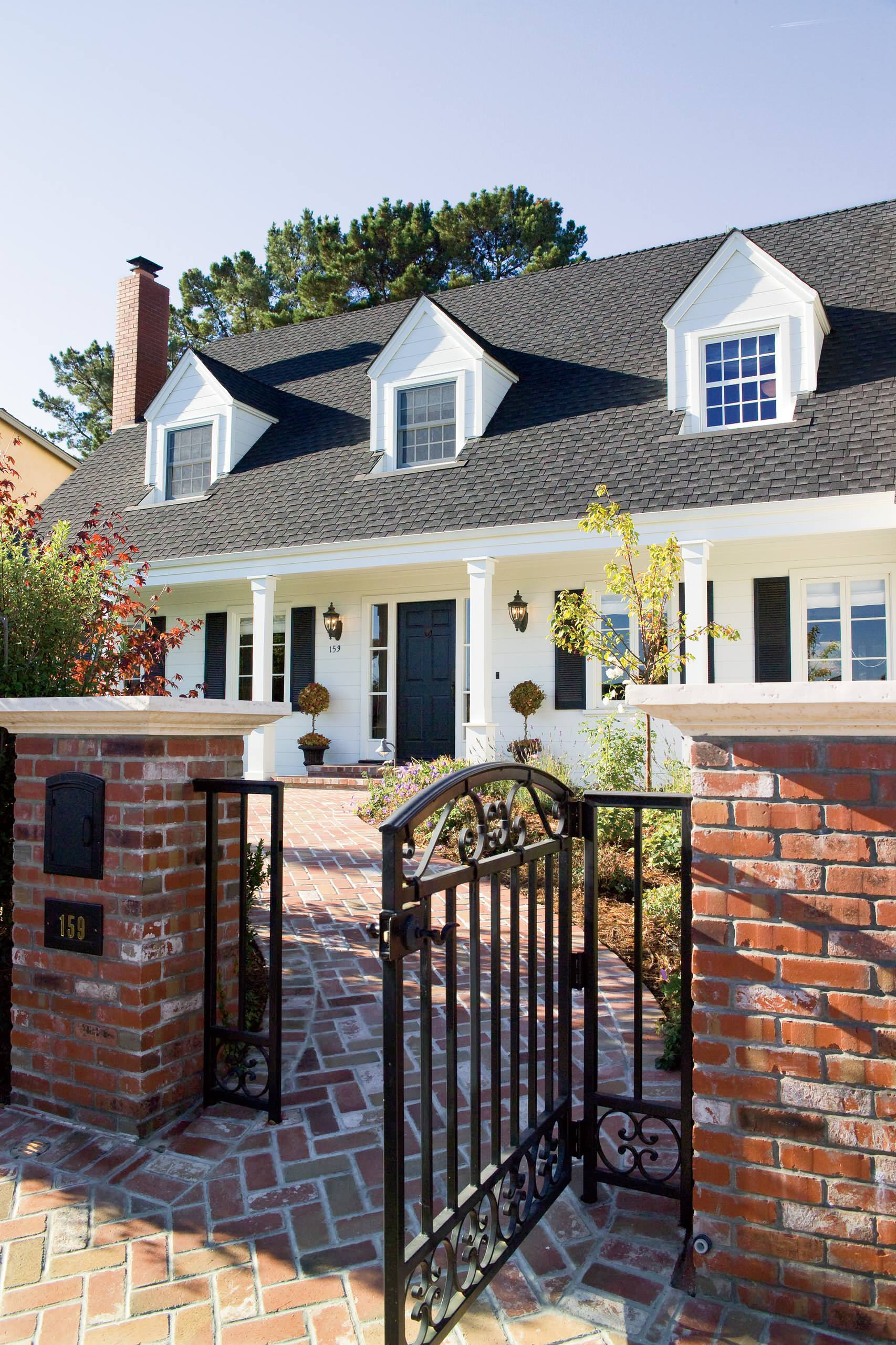 Front Wall Gate Houzz
