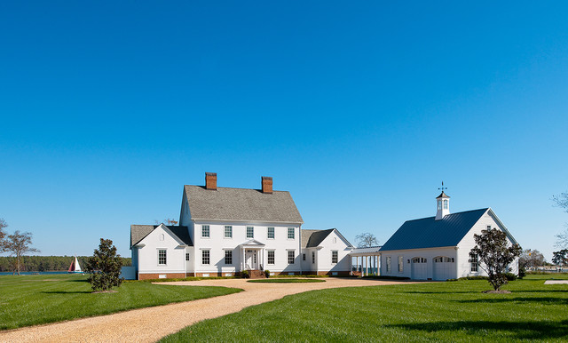 Tidewater Traditions - Arrival - Farmhouse - Exterior - dc ...