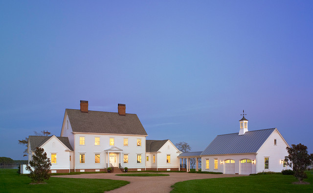 Tidewater Traditions Simple Dusk traditional-exterior
