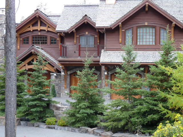 timber frame rustic-exterior