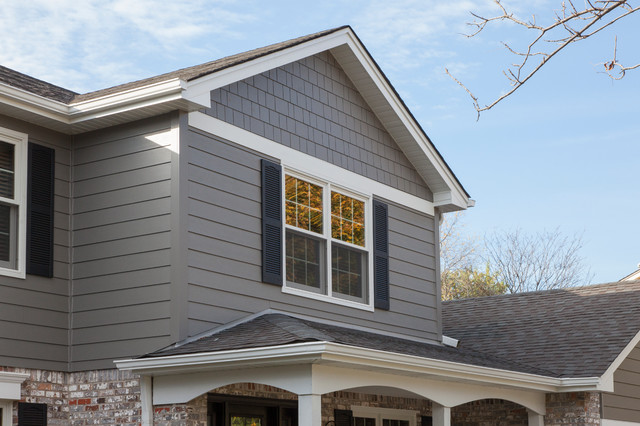 Timeless beauty with Aged Pewter James Hardie Siding
