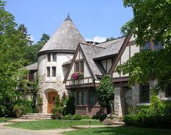 Timeless Tudor Estate traditional-exterior