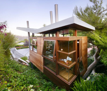 tiny homes in california modern exterior
