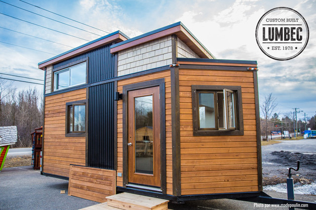 Tiny House By Lumbec Our Prototype Transitional
