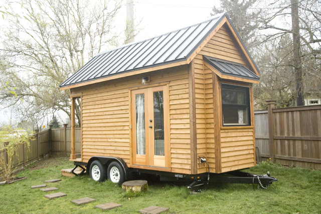 Tiny House in Portland Contemporary Exterior Portland by
