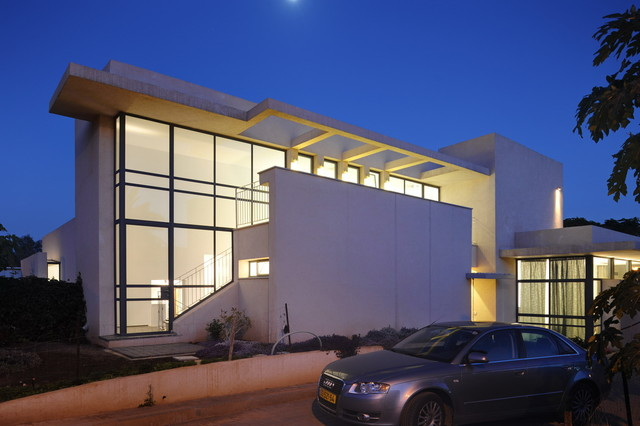 tomer house - israel modern-exterior
