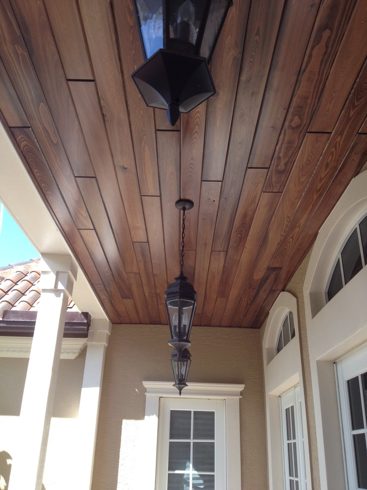 Tongue Groove Ceiling Level 1