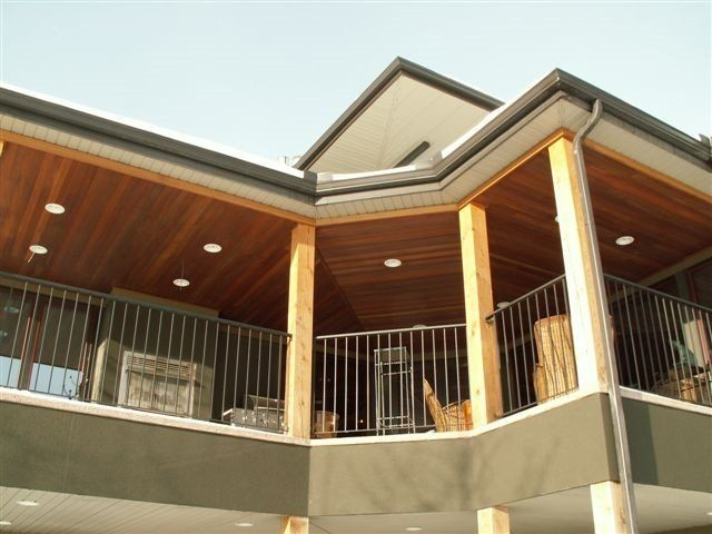 Tongue And Groove Soffit Traditional Exterior Calgary By Kayu Canada Inc