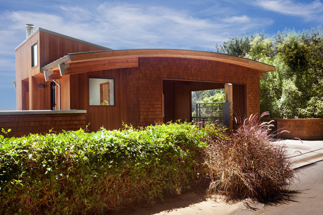 Hill Side Home - Contemporary - Exterior - Other - by Thompson Studio ...