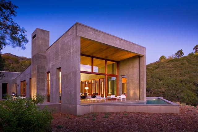 Toro Canyon Residence rustic-exterior