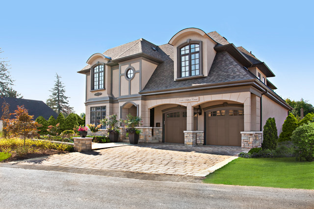 Tourmaline chateau traditional exterior toronto by for Lakeshore design builders