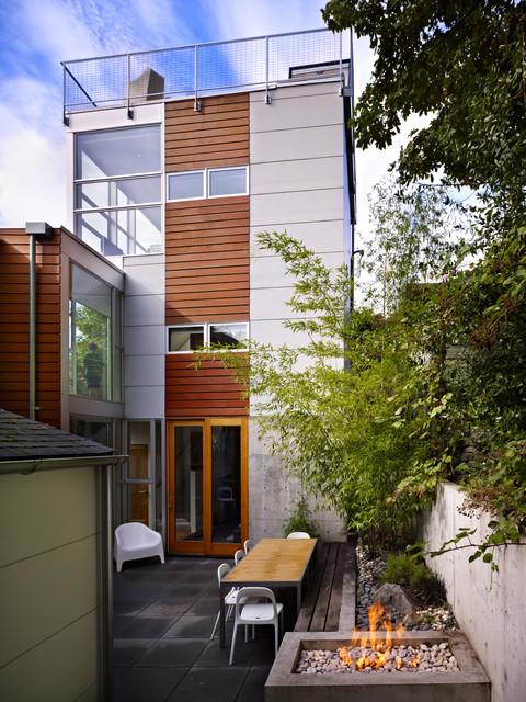 Tower House modern-exterior