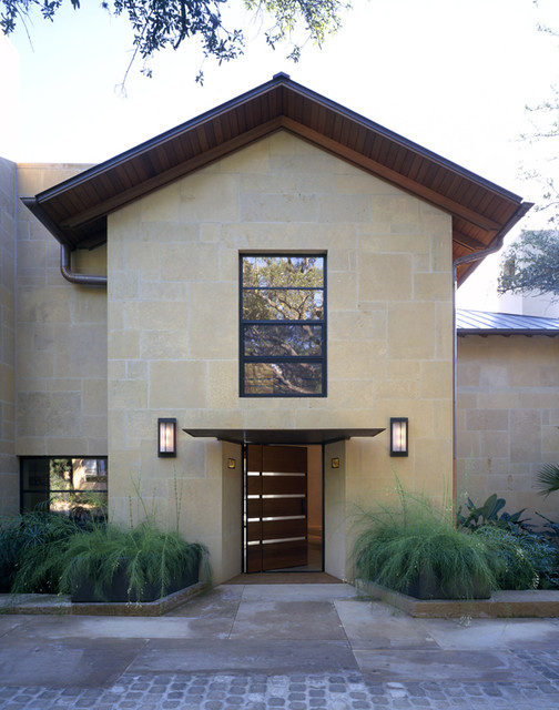 Town Lake Residence contemporary-exterior