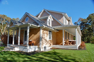 Traditional 3000 sq ft Modular Home on Martha's Vineyard - Traditional - Exterior - other metro ...