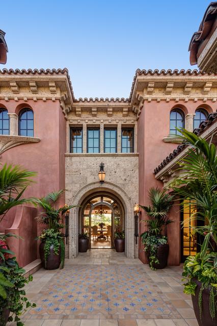 A Spanish Architecture Floridian Mizner Mediterranean