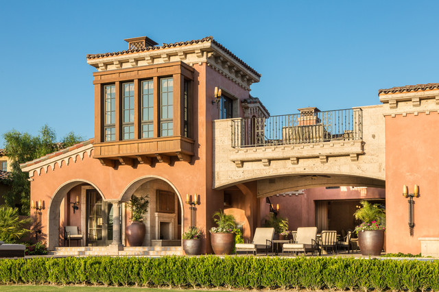 A Spanish ArchitectureFloridianMizner Mediterranean Exterior Orange County on Stucco Color For Mediterranean Style Homes
