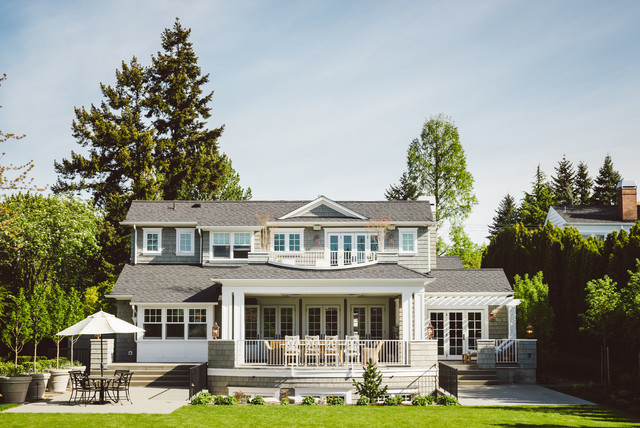 Traditional Cape Cod Traditional Exterior Seattle