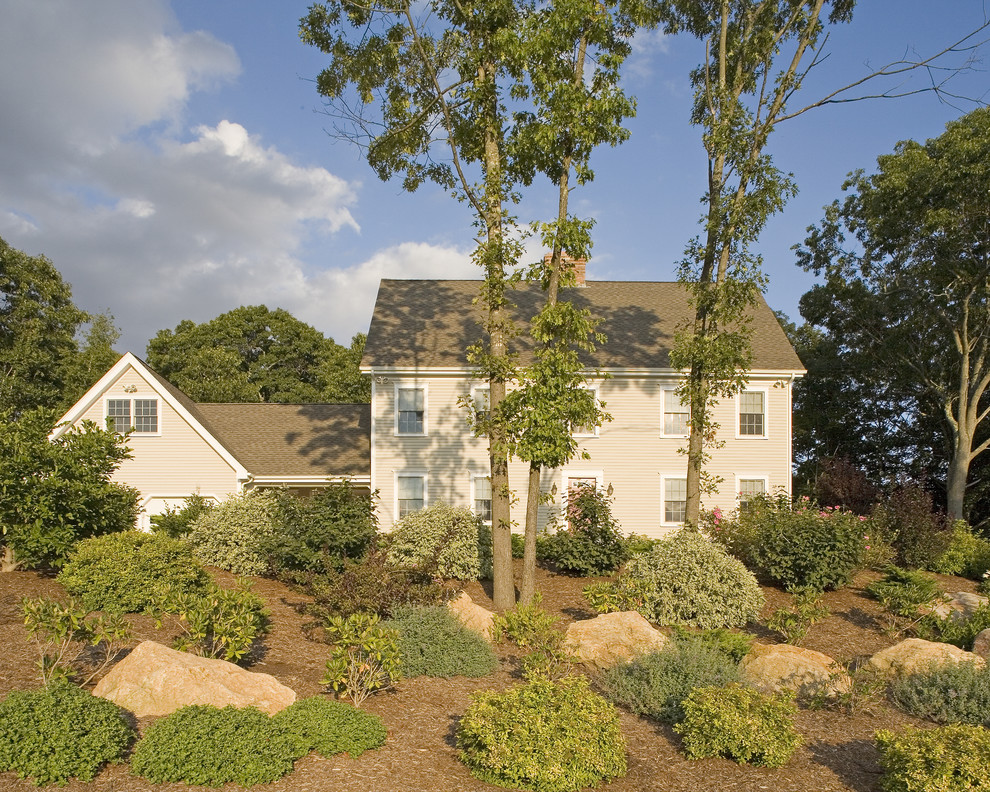 Inspiration for a timeless exterior home remodel in Bridgeport