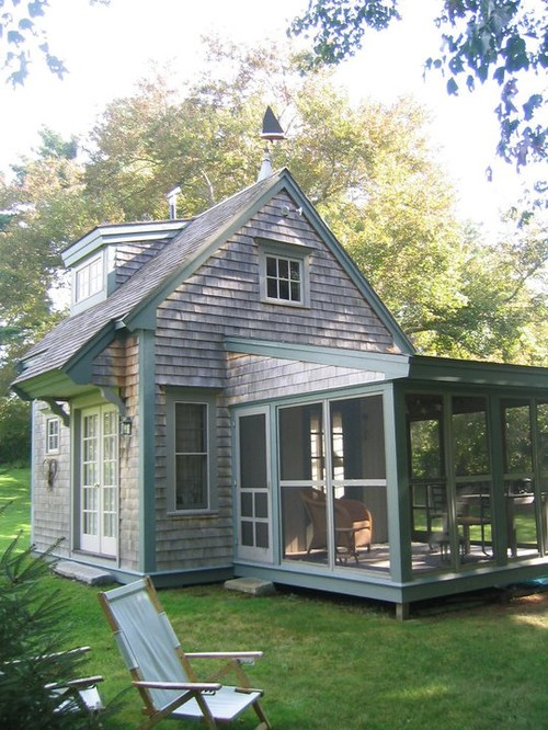 Tiny Houses - Wonderful home by BF Architects is in Plymouth MA