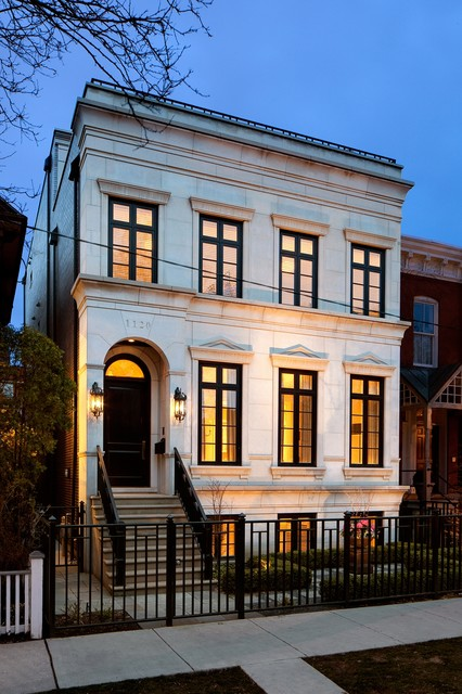 Winner of NAHB Best in American Living- Midwest traditional-exterior