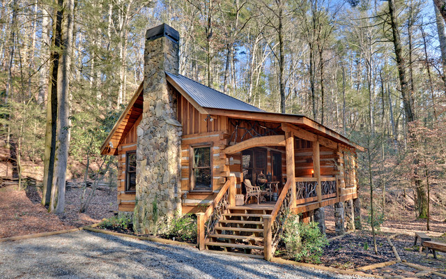 how to build a little cabin in the woods