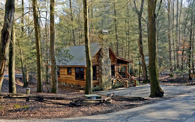 Blue Ridge Georgia Cabins traditional-exterior