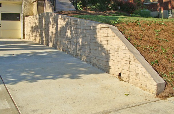 Decorative Concrete Blocks Retaining Walls Car Interior