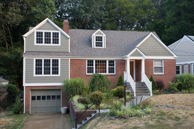 Inspiration For A Timeless Brick Exterior Home Remodel In Dc Metro