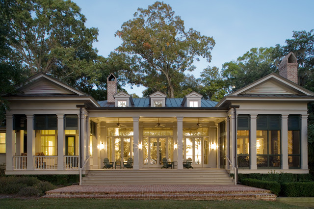 Lowcountry greek revival spring island south carolina for Historical concepts architects