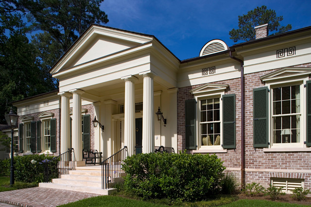 Georgia greek revival the ford plantation traditional for Historical concepts architects